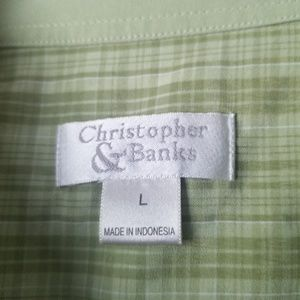 Christopher & Banks Tops - Womens button down shirt